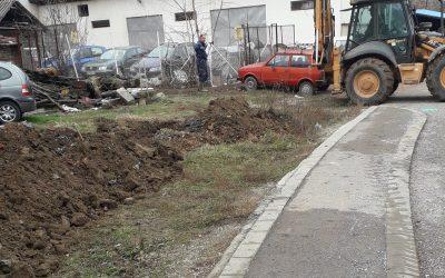 У току реконструкција водоводне мреже у Книћу