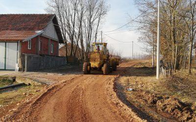Завршени радови на више локација на територији општине Кнић