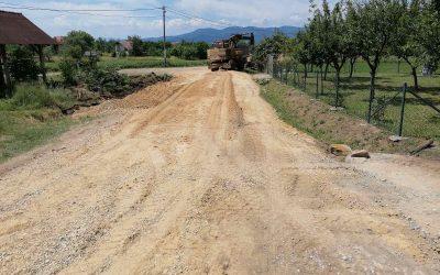 Урађени путеви и пропусти у месним заједницама Пајсијевић, Лесковац и Врбета